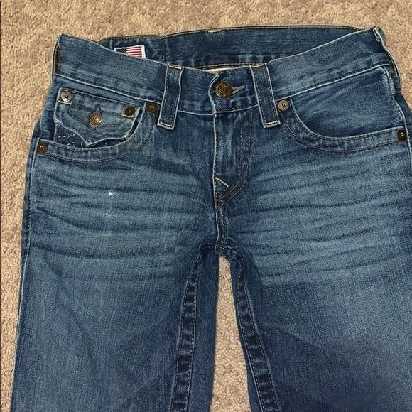 fa3bc782e True Religion Womens Ricky Flap Pocket Jeans. M 5c679564409c15e4bf18aeaa
